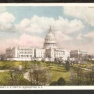 1915 WEST FRONT U.S. CAPITOL BUILDING WASHINGTON D.C. 821