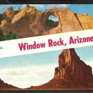 GREETINGS FROM WINDOW ROCK ARIZONA SHIPROCK NEW MEXICO 826