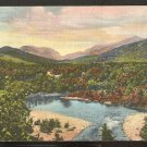 FRANCONIA NOTCH PEMIGEWASSET RIVER WHITE MOUNTAINS NEW HAMPSHIRE 878