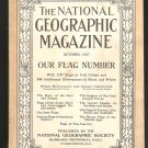 1917 NATIONAL GEOGRAPHIC FLAG ISSUE USS ARIZONA LEWIS MACHINE GUN PHOTOS