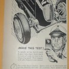 1949 ADS BAYER ASPIRIN NASCAR INDY CAR & DRIVER + LESTER BETSY ROSS SPINET PIANO