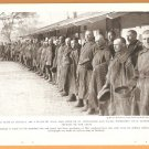 1918 NATGEO PHOTO RUSSIAN PRISONERS IN GERMAN POW CAMP + RUSSIAN PEASANTS