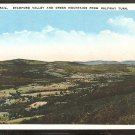 STAMFORD VALLEY & GREEN MOUNTAINS FROM HALFWAY TURN MOHAWK TRAIL 890
