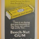 1949 ADS BEECH – NUT PEPPERMINT GUM ALWAYS REFRESHING + DOW SARAN WINDOW SCREENS