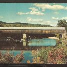 BLAIR COVERED BRIDGE PEMIGEWASSETT RIVER CAMPTON NEW HAMPSHIRE 911