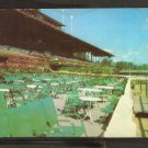 TRACKSIDE TERRACE SARATOGA RACEWAY SARATOGA SPRINGS NEW YORK HARNESS RACING TROTTERS914