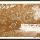 SILVERMINE TAVERN MILL & WATERFALL NORWALK CT CONNECTICUT 930