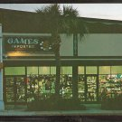 GAMES IMPORTED STORE FRONT LAS OLAS BLVD FORT LAUDERDALE FLORIDA 928
