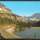 POSTCARD COLUMBIA ICE FIELD JASPER-BANFF HIGHWAY SUNWAPTA RIVER CANADIAN ROCKIES 938