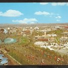 BIRDS EYE VIEW NEW YORK WORLDS FAIR & UNISPHERE 950