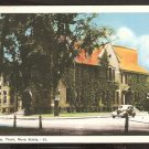 WHITE BORDER CIVIC BUILDING TRURO NOVA SCOTIA VINTAGE AUTO ON STREET 956