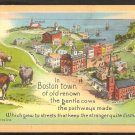 In Boston Town of Old Renown The Gentle Cows The Pathways Made 965