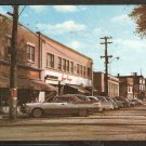 1965 Castle St Newcastle New Brunswick Storefronts Parked Autos Chrysler Plymouth 980