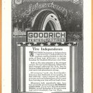 ORIGINAL 1918 B.F. GOODRICH SILVERTOWN TIRE AD
