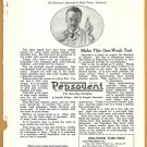 1918 Ad Pepsodent The New Day Dentifrice How Scientists Clean Their Teeth