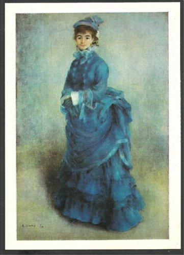 La Parisienne Pierre Auguste Renoir National Museum of Wales 1018
