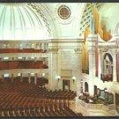 First Church of Christ Scientist Interior View Boston MA Chrome Postcard 37