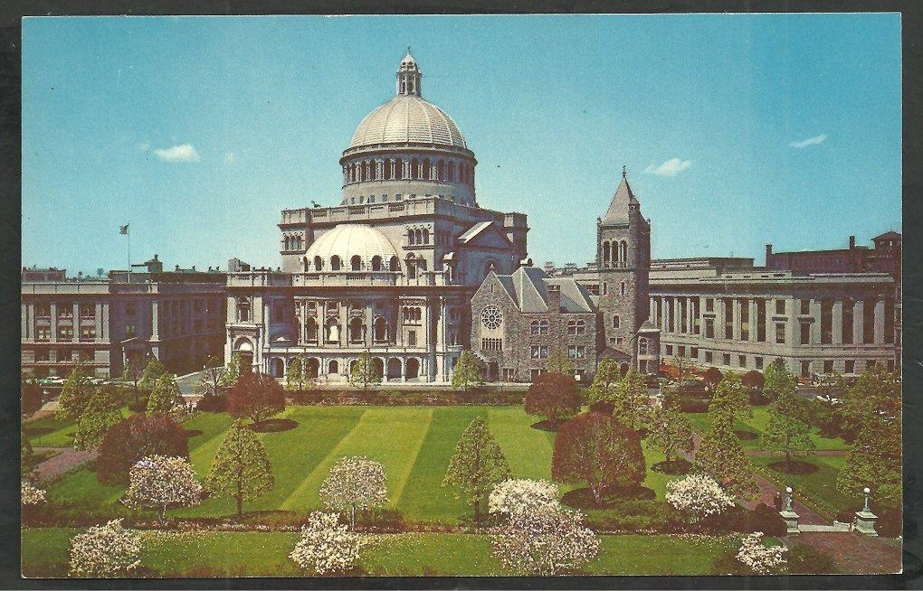 First Church of Christ Scientist Boston MA Chrome Postcard 38
