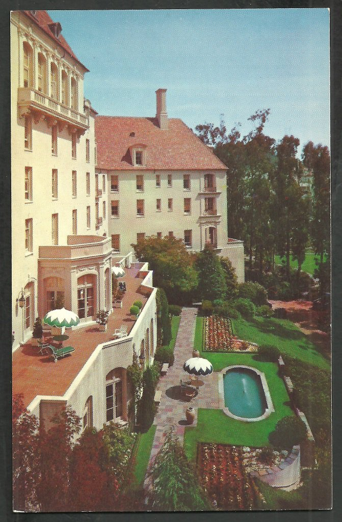 Christian Science Benevolent Association San Francisco Pool Patio Eucalyptus Trees 56