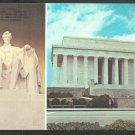 Multi View Lincoln Memorial Washington DC Chrome Postcard 1068