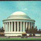 The Thomas Jefferson Memorial Washington D.C. 1940 1950 Vintage Autos Chrome Postcard 1087