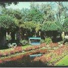 El Encanto Hotel Villas Santa Barbara California Flower Garden Reflection Pool Chrome Postcard 102