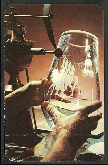 Craftsman Engraving Steuben Vase Corning Glass Center Corning New York 110