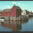Business Card Forwards Color Production Red Barn Rockport Massachusetts 1097