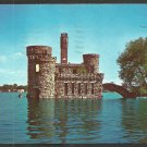 Unique View of Boldt Castle Alexandria Bay Thousand Islands New York St Lawrence River 1054