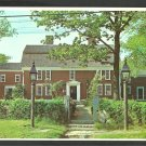 Longfellow Wayside Inn Sudbury MA MASS Chrome Postcard 179