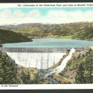 Birds Eye View Nederland Dam Boulder Canon Colorado White Border Postcard 1160