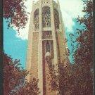 The Singing Tower Bok Memorial Lake Wales Florida Chrome Postcard 227