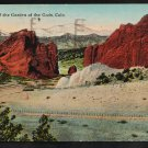 Gateway of the Garden of the Gods Colorado 1920 Postcard 277