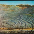 Bingham Canyon Copper Mine Kennecott Copper Mine Utah ca 1960 Chrome Postcard 280