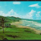 Stunning Vista Kingsley Club Bathsheba St Joseph Barbados BWI British West Indies Chrome Postcard