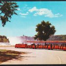 Niagara Falls Viewmobile Prospect Point Goat Island New York Tourists Chrome Postcard 303