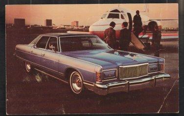 1978 Mercury Grand Marquis Ad Postcard Tallys Auto Sales Gloucester MA Chrome Postcard 307