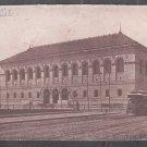 1901 Undivided Back Boston Public Library Brighton Electric Trolley Car 328