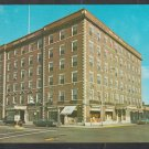 ca 1960 Hawthorne Motor Hotel Salem MA Mass Ford Chevrolet Plymouth Taxi Chrome Postcard 406