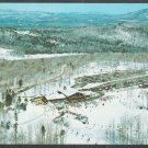 Birds Eye View Stratton Mountain Vermont Ski Resort Base Camp Chrome Postcard 407