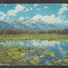 Splendid View of Grand Teton National Park 1969 Chrome Postcard 1226