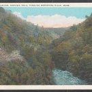 Cold River Canyon Mohawk Trail Through Berkshire Hills White Border Postcard 1232