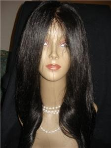 100% REMI INDIAL FULL LACE WIGS SILKY STRAIGHT #1, #1B, #2, #4 14 INCHES