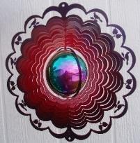 Colorfusion Gazingball ,Cardinal