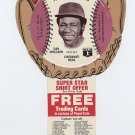 1977 Dan Driessen Pepsi Cola Baseball Glove Disc Mint!
