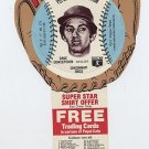 1977 Dave Concepcion Pepsi Cola Baseball Glove Disc Mint!