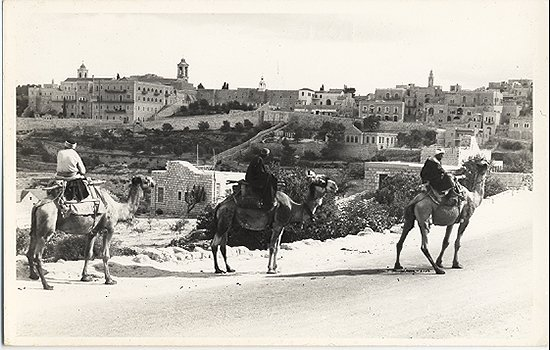 50's RPPC 3 Wise Men of Bethlehem