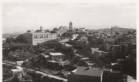 RPPC General View of Bethlehem, circa 50's Post Card