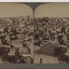 Antique Stereoview Jerusalem, City of Zion Underwood & Underwood