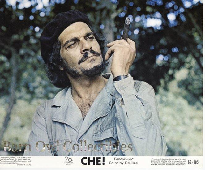 Omar Sharif as Che! Guevara 60's Lobby Card